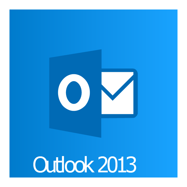Outlook 2013, Outlook 2013 icon,
