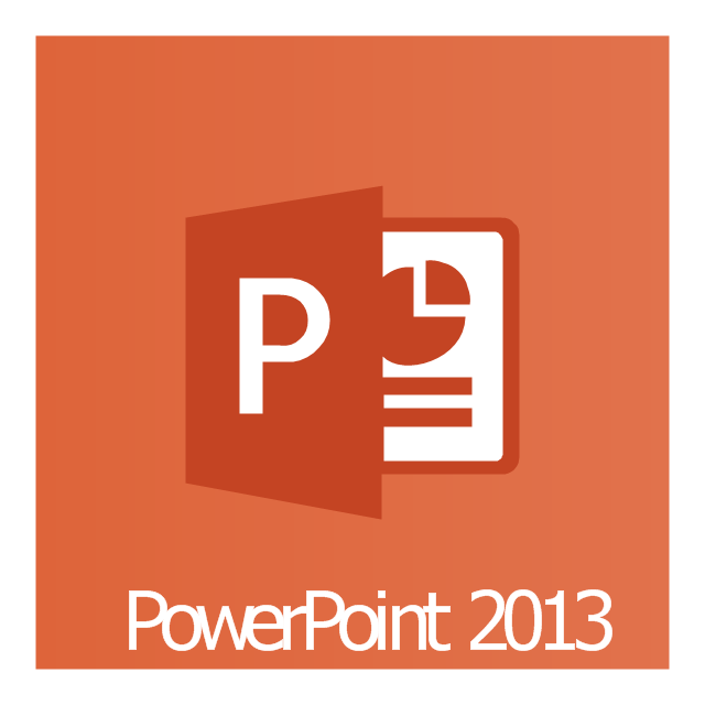 PowerPoint 2013, PowerPoint 2013 icon,