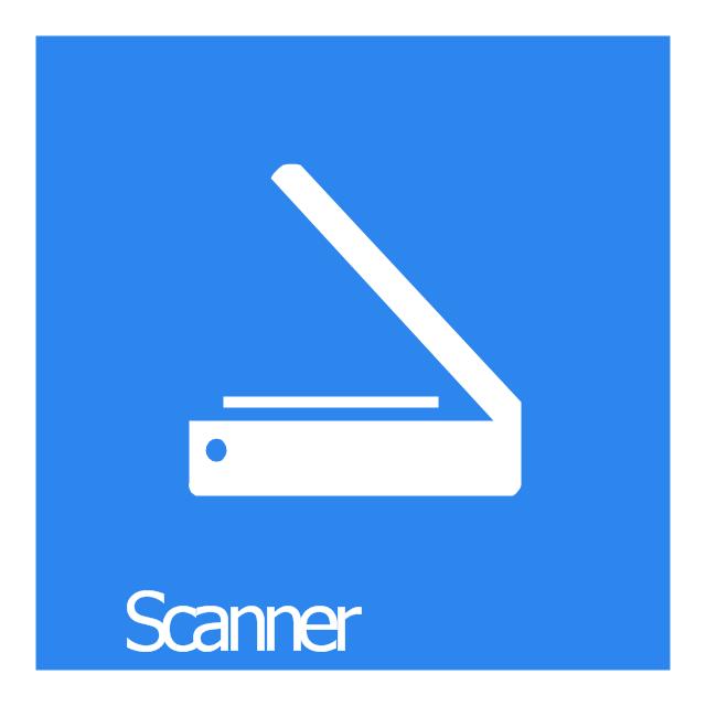 Scanner, Scanner icon,