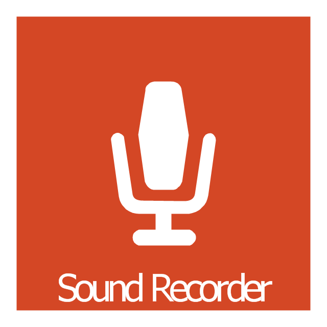Sound Recorder, Sound Recorder icon