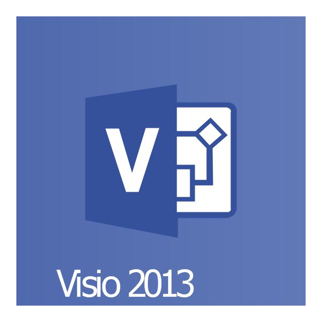 Visio 2013, Visio 2013 icon,