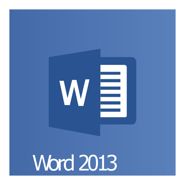 Word 2013, Word 2013 icon,