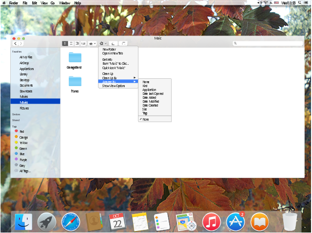 Finder - Mac OS X file manager and GUI shell , window panel, trash icon, tool bar, toolbar, text label, tag, submenu indicator, sound, small button toggle, share button, gradient button, shape, settings, search field, menu item, menu bar menu, menu bar, main sidebar, main app window area, icon notification, iTunes icon, iBooks icon, general menu, drop-down menu, folder icon, eject icon, edit tags button, gradient button, dock bar, divider, check mark black, button 4  drop down, back forward button, arrange button, gradient button, all tags glyph, tag, action menu button, action buttons, stoplights control, action button, United States, USA, Spotlight icon, Safari icon, Reminders icon, Notifications icon, Notes icon, Maps icon, Launchpad icon, Finder icon, Contacts icon, Calendar icon, Apple menu, Apple icon, Mac OS icon, App Store icon, AirPort icon,