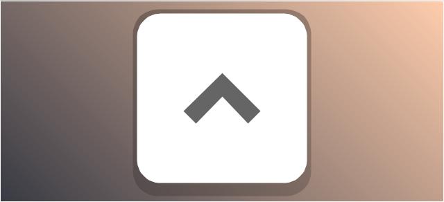 Disclosure button - point up, disclosure button, collapse field button,