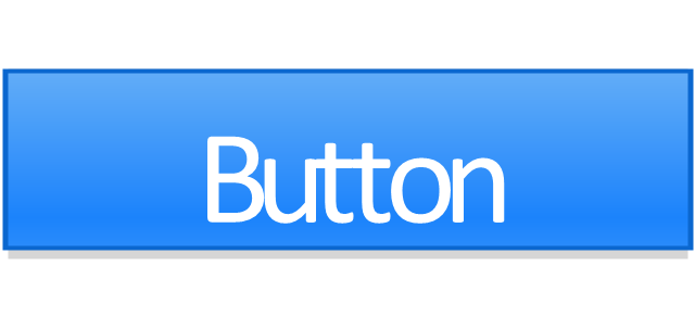 Center segment button - active, segmented control,
