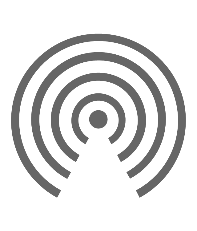 AirDrop icon, AirDrop icon, sidebar icon,