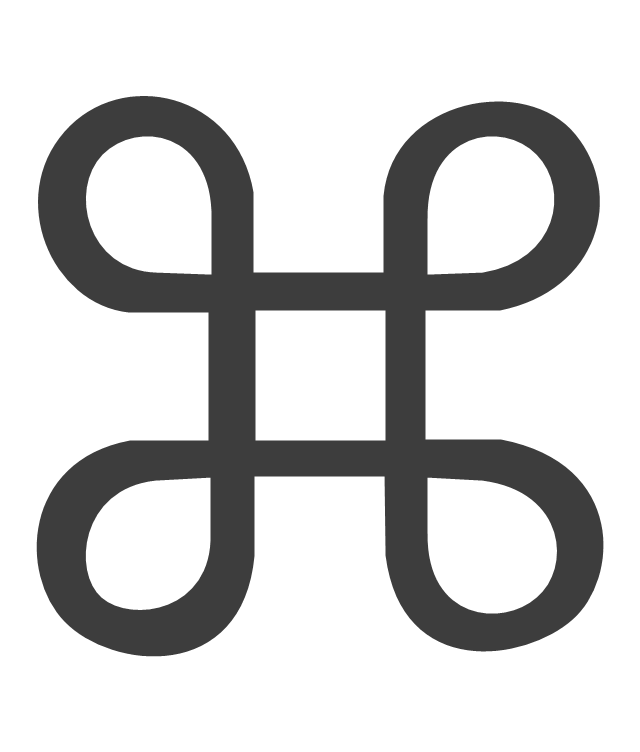 Glyph Icons Vector Stencils Library