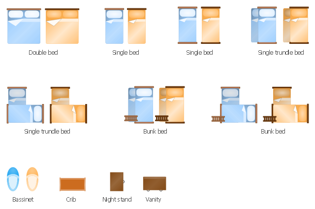 ... bed, single bed, night stand, double bed, crib, bunk bed, basinet