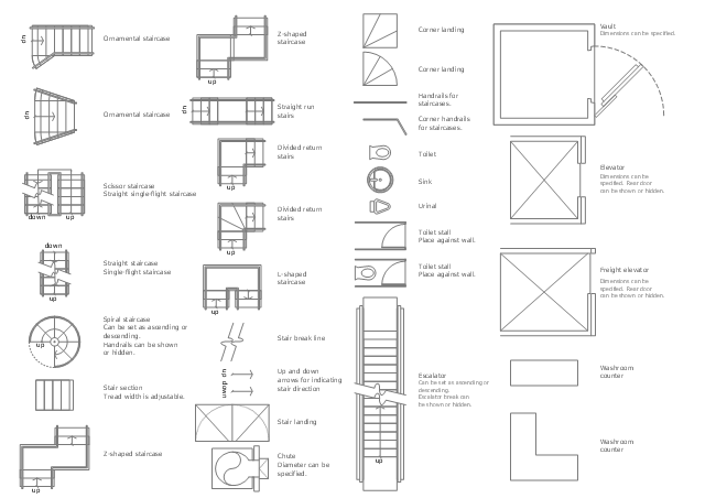 Design Elements Building Core Plumbing And Piping Plans Cafe And Restaurant Floor Plans How To Show Toilet Under The Staircase In Architectural Drawing