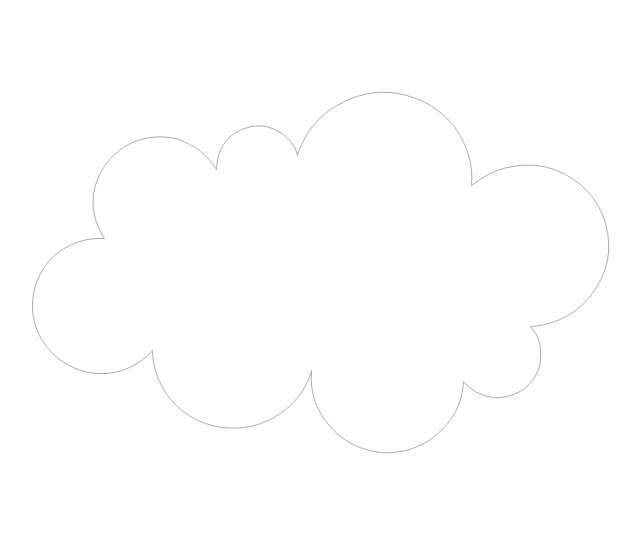 Cloud, concept map,
