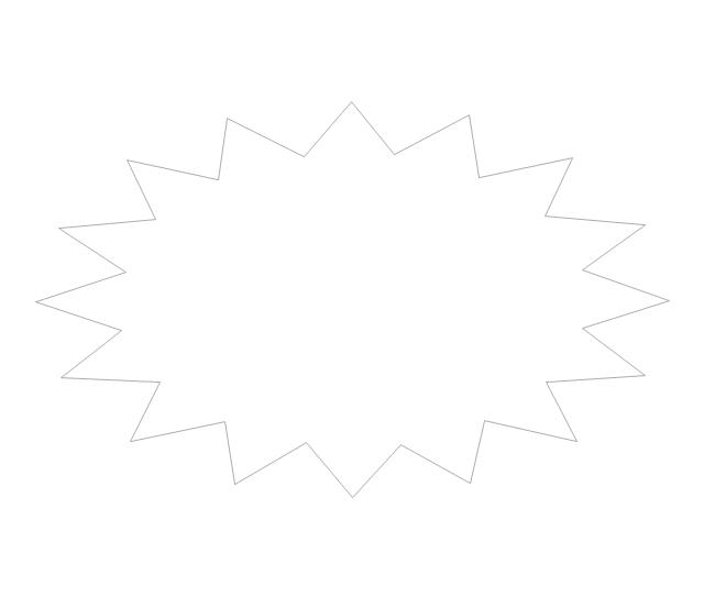Starburst, concept map,