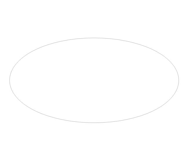 Oval, concept map,