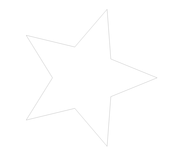 Star, concept map,