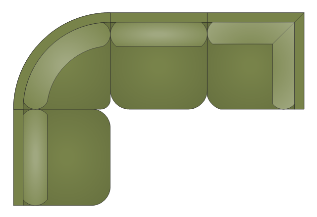 Armless Sectional Sofa armless sectional sofa sectional sofa  sc 1 st  Conceptdraw.com : office sectional - Sectionals, Sofas & Couches