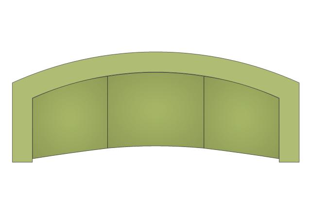 Curved Back Sofa, curved back sofa,