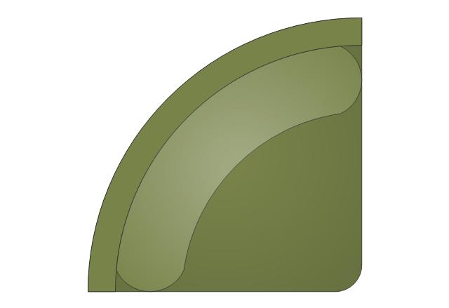 Sectional Sofa - Corner Arm 1, sectional sofa, corner arm,