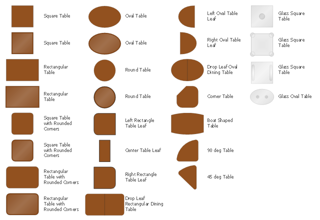 Table symbols, square table, table, square table, rounded corners, round table, table, right rectangle table leaf, rectangle table leaf, right oval table leaf, oval table leaf, table leaf, rectangular table, table, rectangular table, rounded corners, oval table, table, left rectangle table leaf, rectangle table leaf, left oval table leaf, oval table leaf, table leaf, glass square table, glass table, glass oval table, glass table, corner table, table, center table leaf, table leaf, boat shape table, table, 90 degree table, 45 degree table,