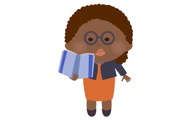 Teacher - woman, african, teacher, schoolmarm,