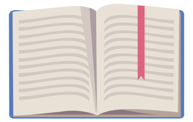 Book - open, open book,