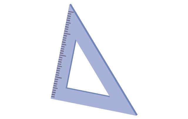 Triangle ruler, triangle ruler,
