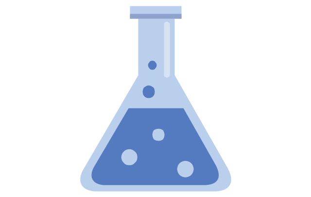 Chemical flask, chemical flask, conical flask,