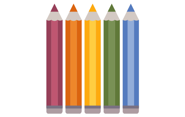 Colored pencils, colored pencils,