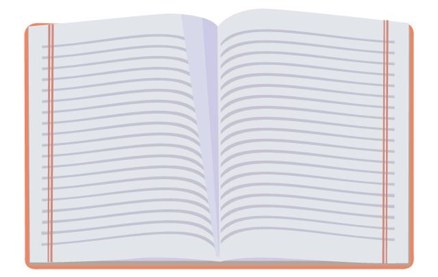 Exercise book, exercise book, notebook,