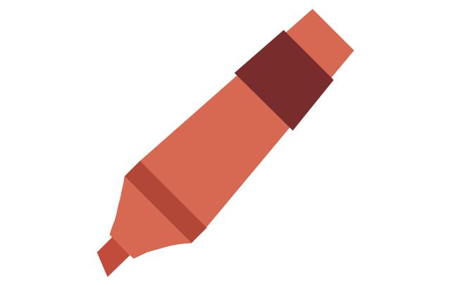 Marker - red, marker,