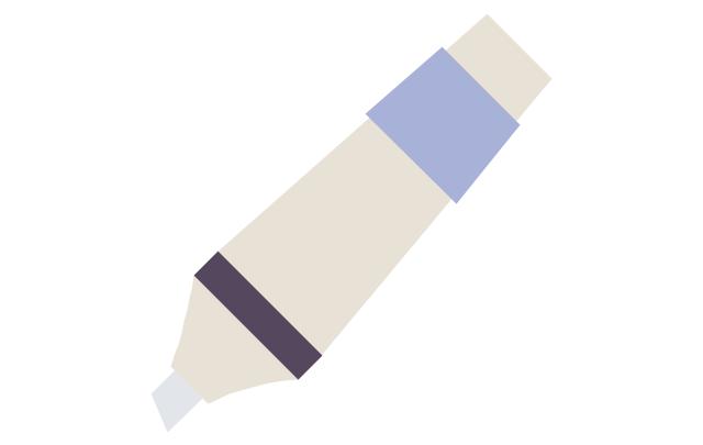 Marker - white, marker,
