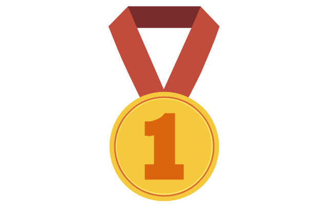 Medal with ribbon, medal with ribbon,