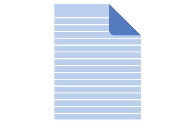 Paper sheet - lined, lined paper sheet,