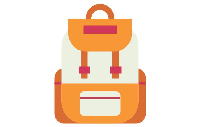 School backpack, school backpack, schoolbag, school bag,