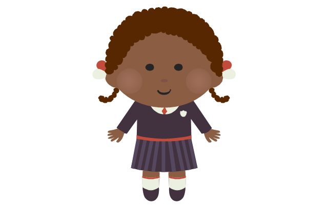 Schoolgirl - african, schoolgirl,