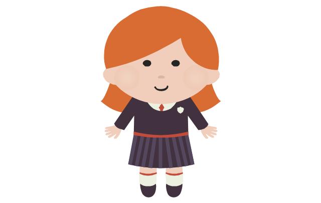 Schoolgirl - caucasian, schoolgirl,