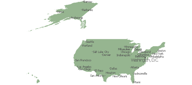 United States, United States, Hawaii, Alaska,