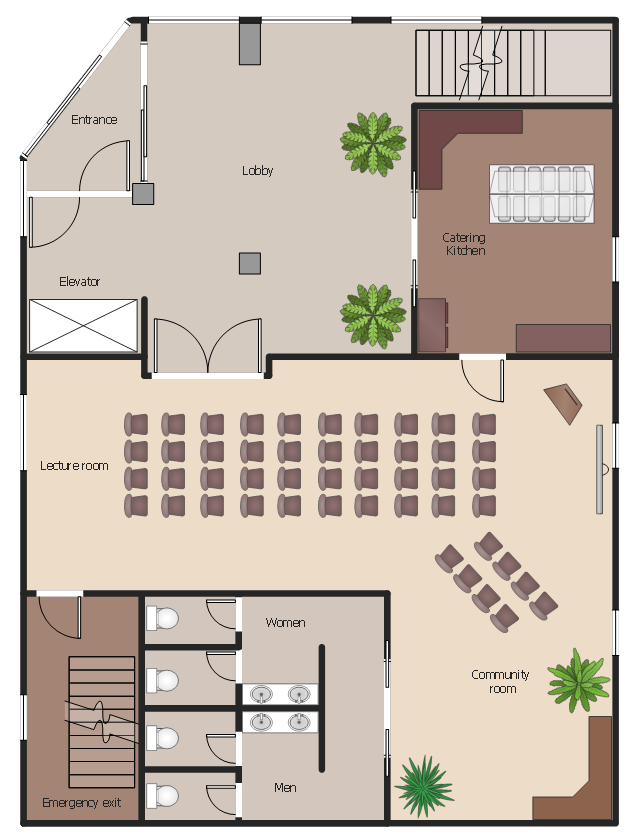 Floor plan, window, casement, wall, pocket, wall cabinet, wall, toilet, straight staircase, screen, salad bar, room, rectangular column, column, podium, palm, fountain-shaped tree, opposing door, green garden plants, garden fern, green garden plants, double vanity sinks, double pocket door, double door, door, corner landing, chair, by-pass door, L-shaped countertop, L-shaped desktop,