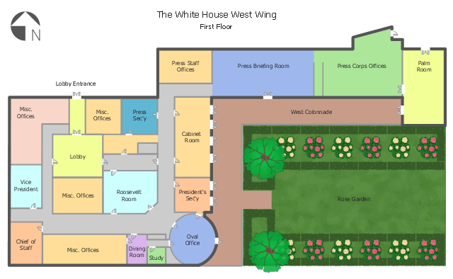White House West Wing 1st Floor Floor Plans Food Court Diagram Of West Wing