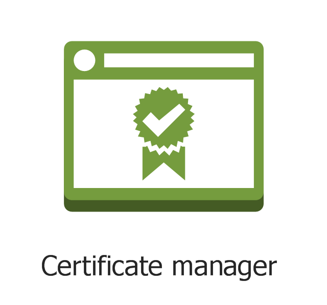 Certificate manager, certificate manager,