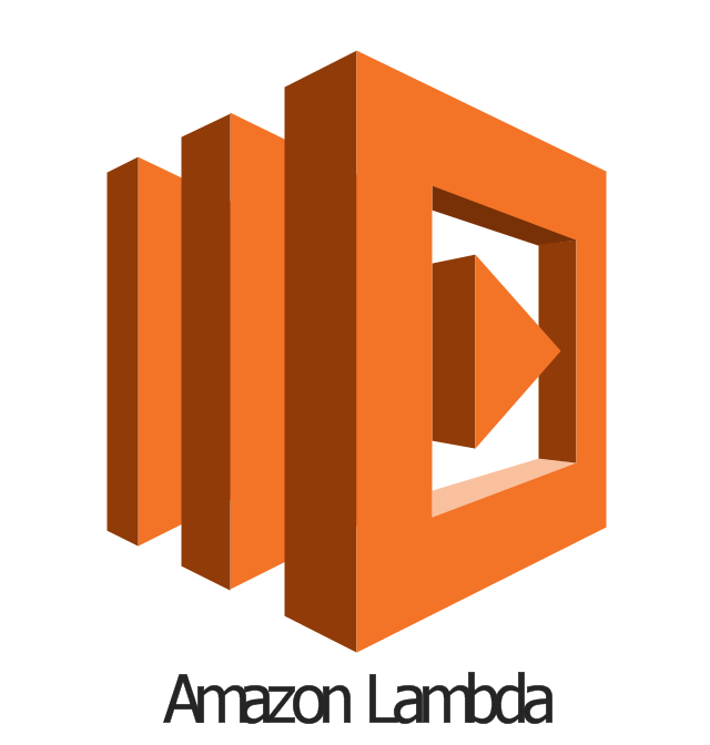 Aws compute and networking vector stencils library amazon lambda amazon lambda ccuart Images