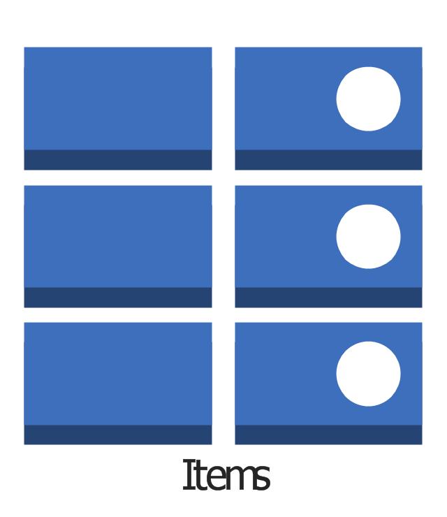 Items, items,