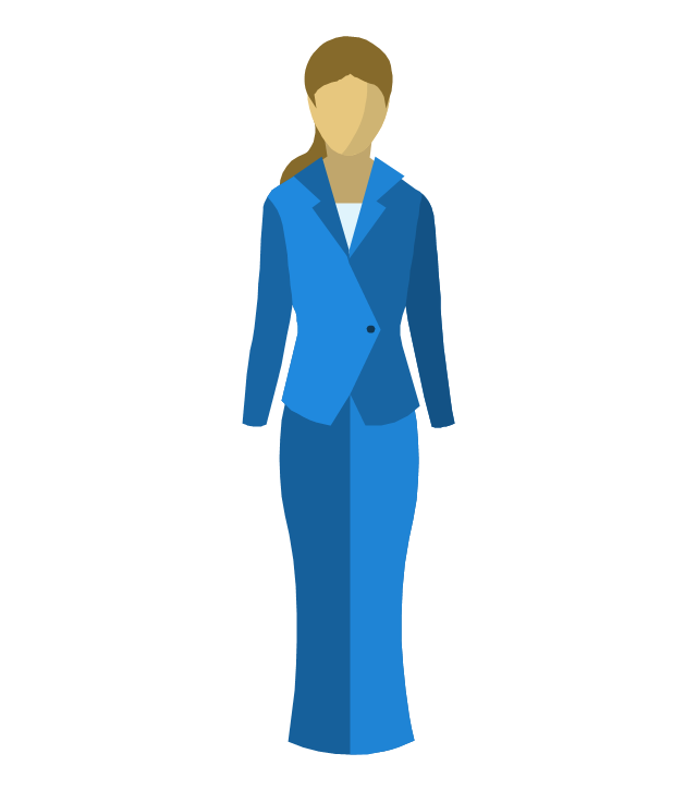 Woman figure, woman figure, business woman,