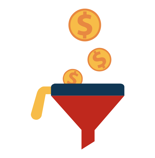 how to create an email funnel bucket