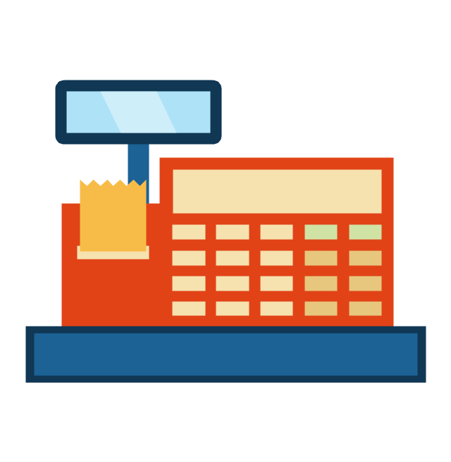 Sales workflow - Vector stencils library | Sales ...