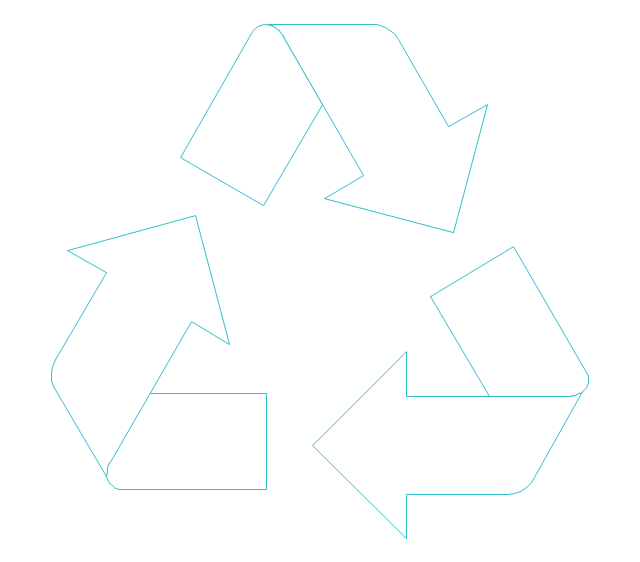 Recycling arrows, recycling arrows,