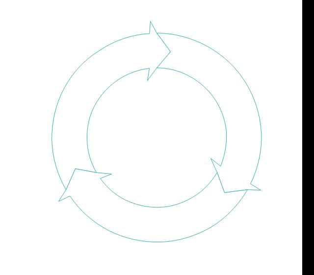 Circular motion arrows, circular motion arrows,