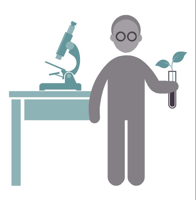 Biologist, biologist, profession icon,