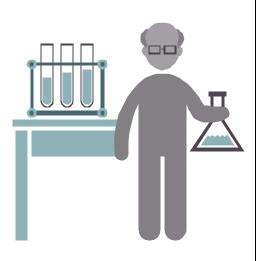 Chemist, chemist, profession icon,