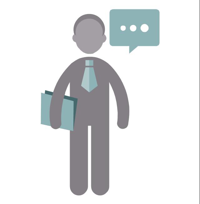 Consultant, consultant, profession icon,