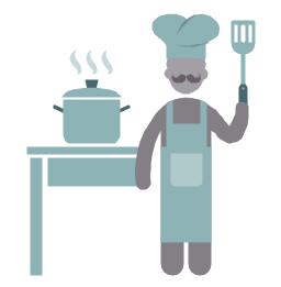 Cook, cook, profession icon,