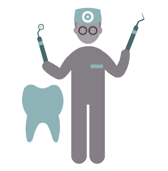Dentist, dentist, profession icon,